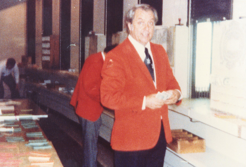 Uncle Bill Baker, The Moneymaker at Madison Square Garden, NYC, First Person to pay the Rolling Stones $250K cash in the early 60's at MSG