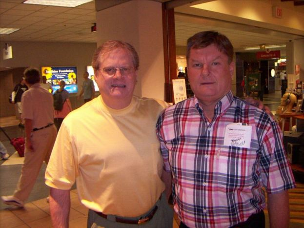 I caught up with Greg Dawson at the Indianapolis, IN Airport for a short visit in September 2007