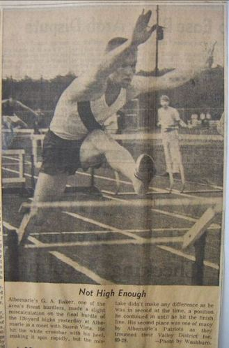 Check out 2 flights of hurdles back...Joe Turtle..