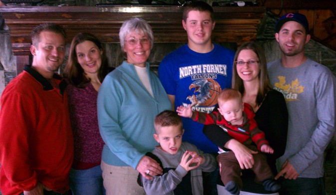 Tj, Katie, Nancy, Braden Baker, Hunter Baker Smith, Preston Cole Baker, Lindsey Cole, and David B. Baker, Dallas Metro 2012