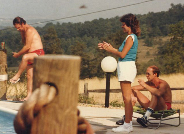 Family Reunion 1983, 'Seavue' on the Ridge overlooking the Shenandoah Valley, VA