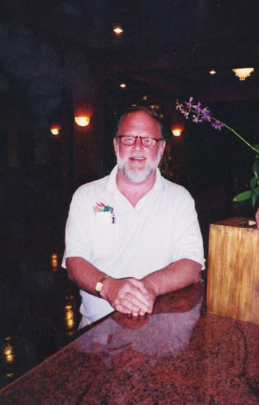 Bill Baker 1941-2012 in Thailand 2002